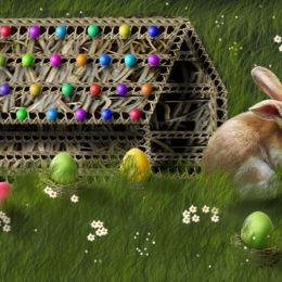 EasterBunnyInTheGarden
