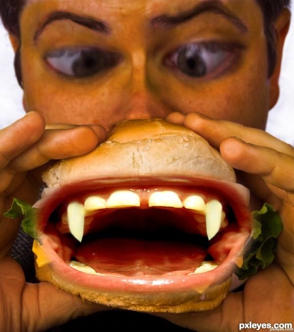 vampire burger