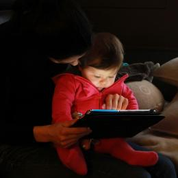 Learning with mommy