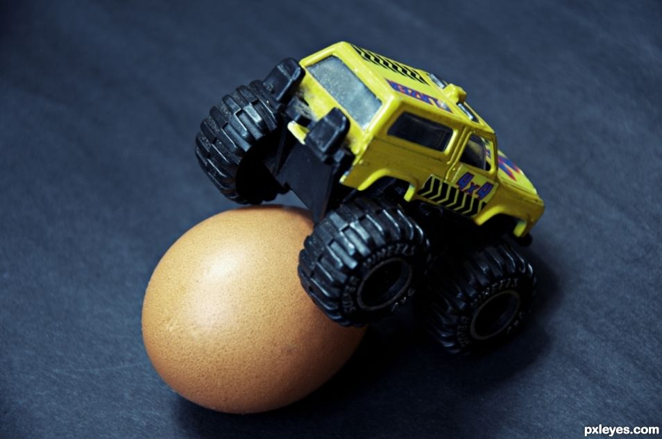 Our eggs are stress-tested