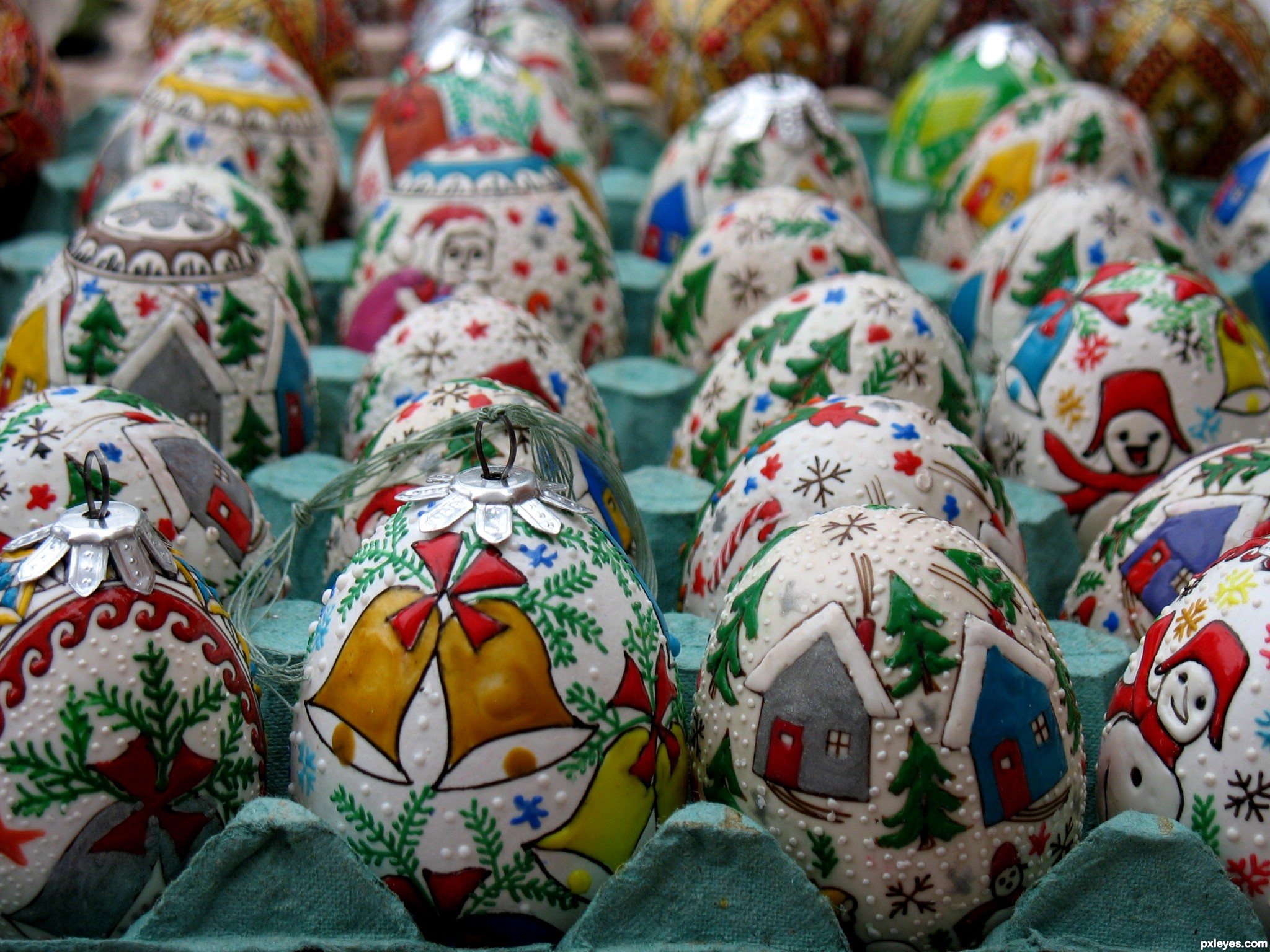 Eggshell Christmas decorations picture, by sdaniela for: eggs ...
