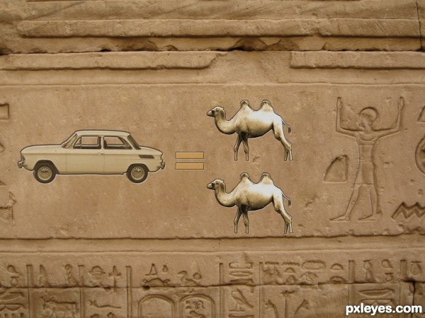 Egyptian Car Ad