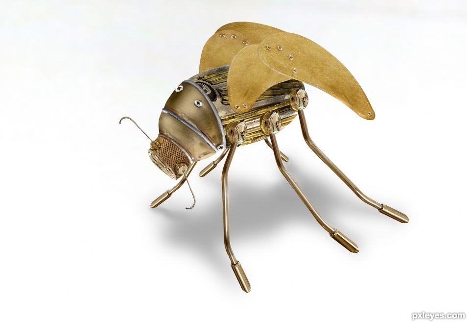 Creation of Metal Bug: Final Result