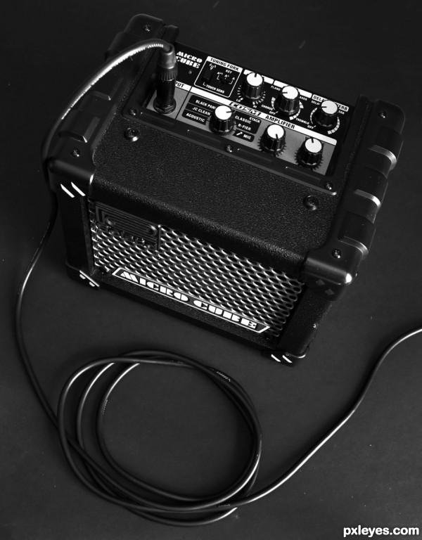 Mini amplifyer - Maxi noise !