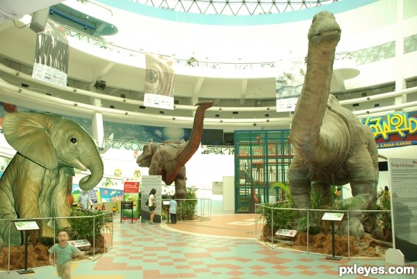 museum giant animals