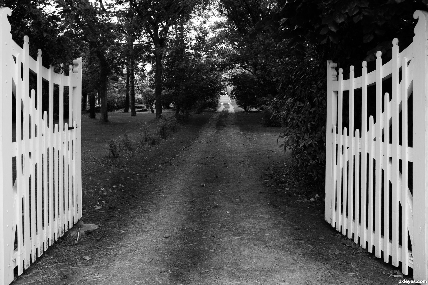 open the gate picture by artifakts for empty paths 2 photography