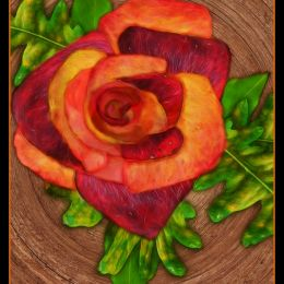 Autumn Rose Picture