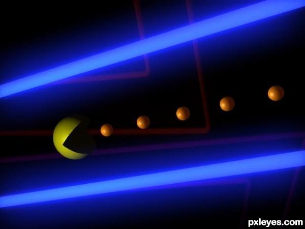 3D Emerging Pacman