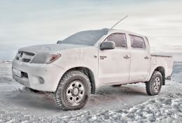 Frozen Toyota  Picture