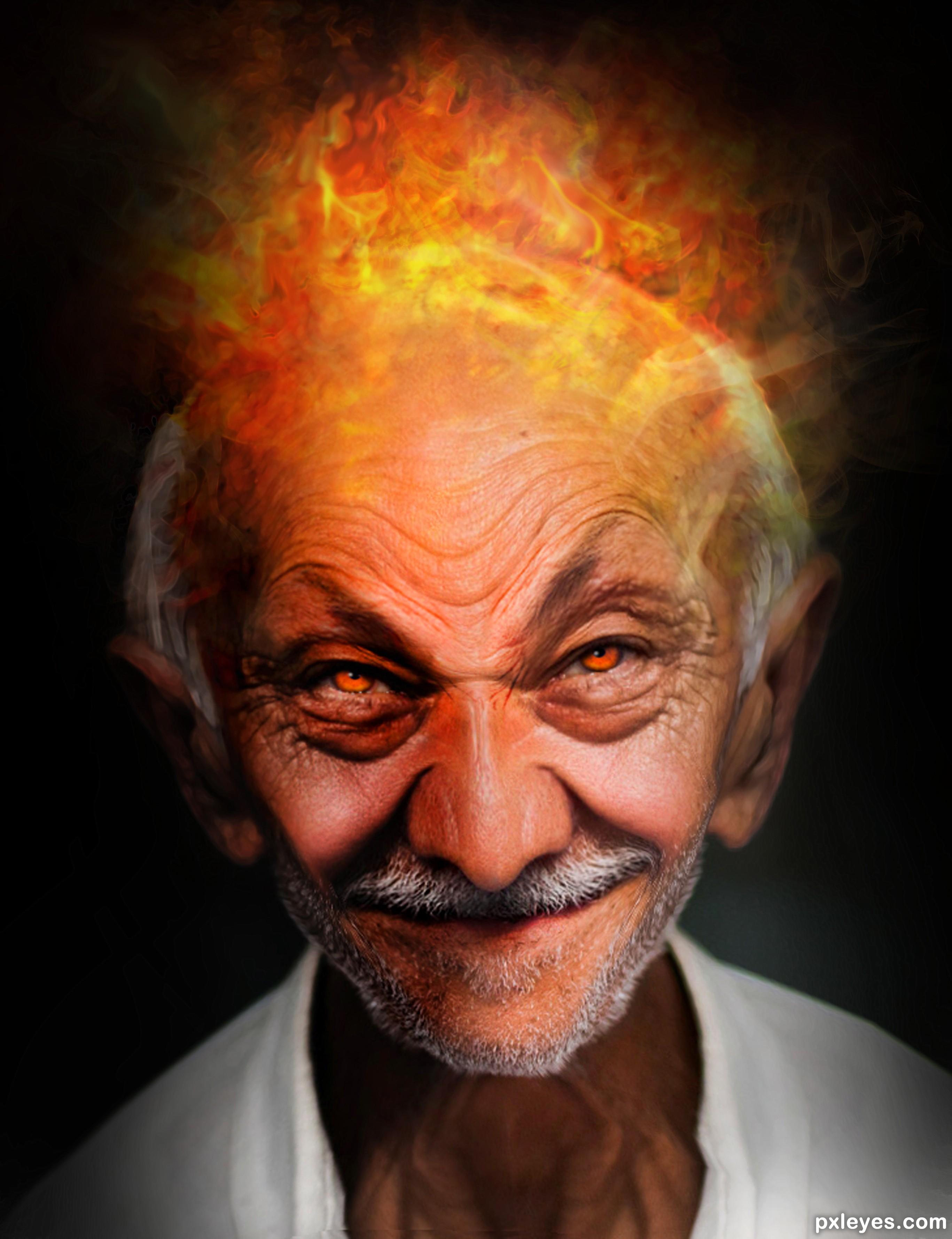 Evil Face Photoshop Contest (21058), Pictures Page 1 - Pxleyes com