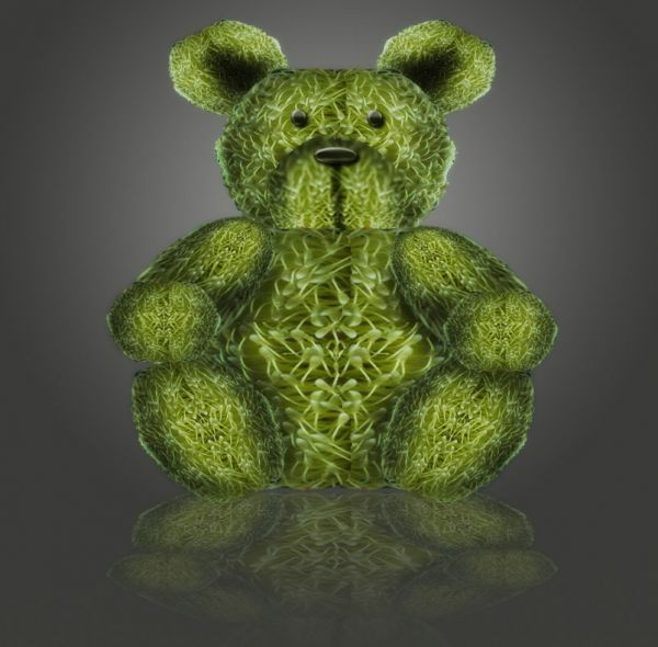 green teddy