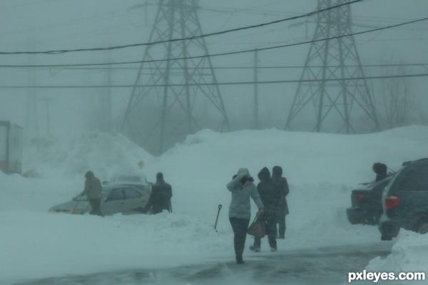 24 inch snowstorm