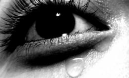 tearful..... Picture