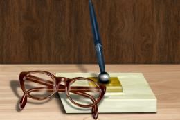 GlassesandPen