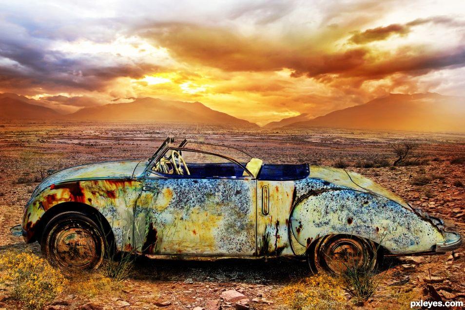 Abandoned Old Timer
