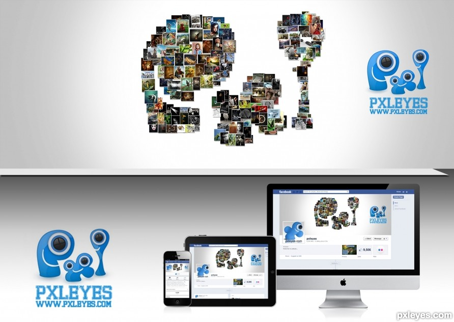 Pxleyes Facebook Page Cover Photo