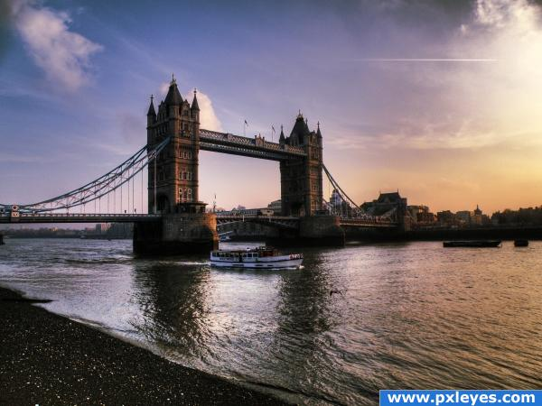 Tower Bridge... photoshop picture