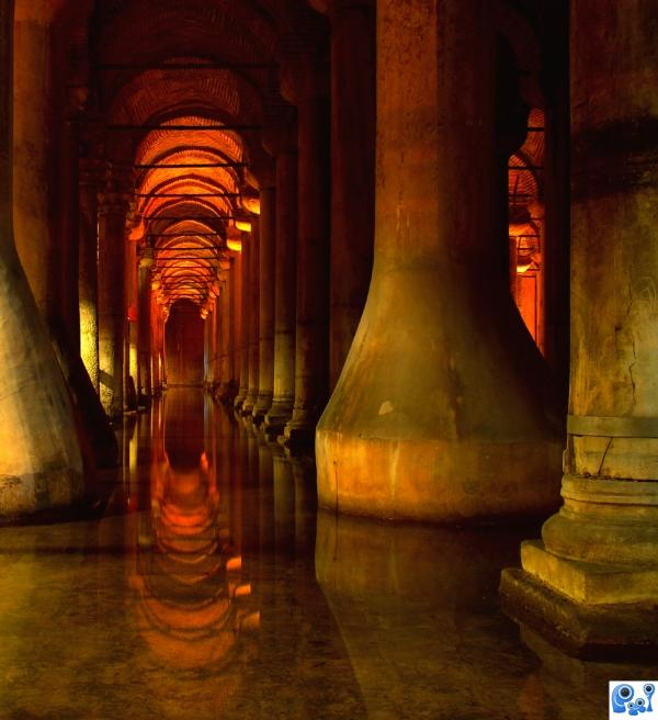 The Basilica Cistern- Istanbul photoshop picture