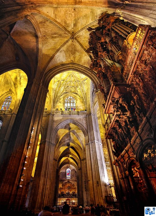 Seville Cathedral photoshop picture
