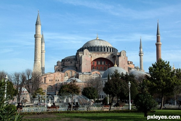 Hagia Sophia photography picture