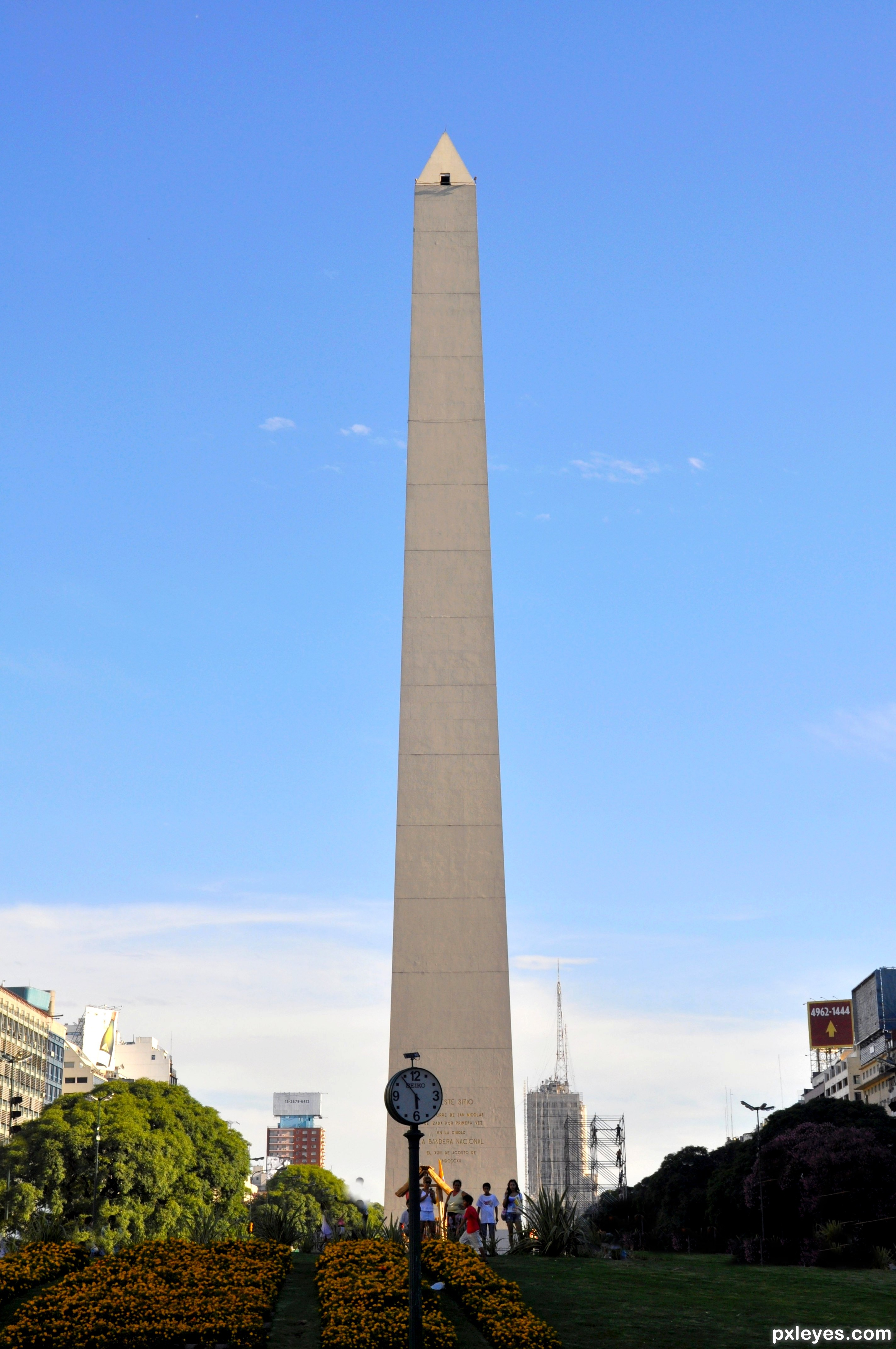 El obelisco buenos aires argentina picture by chrys for Famous landmarks in