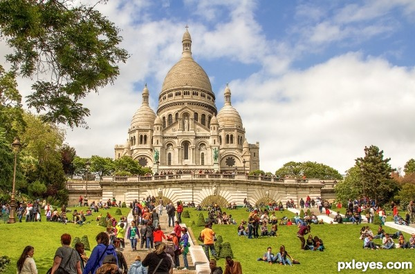 Sacre Coeur Paris France photography picture
