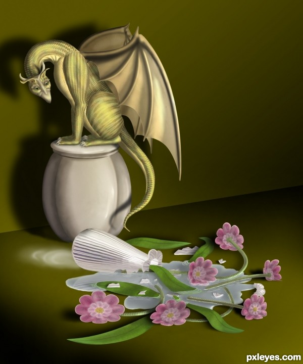 House Dragon photoshop picture