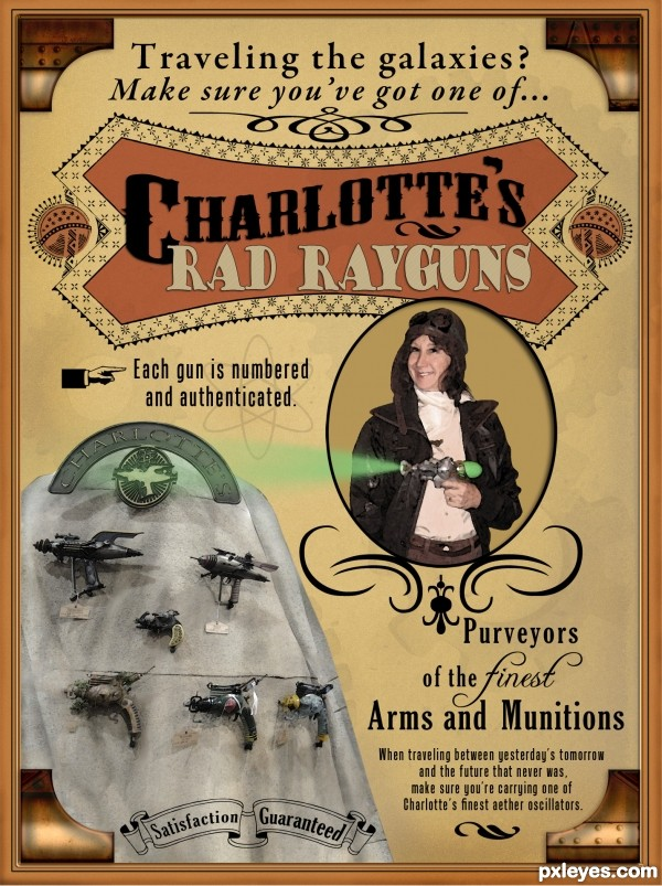 Charlottes Rad Rayguns
