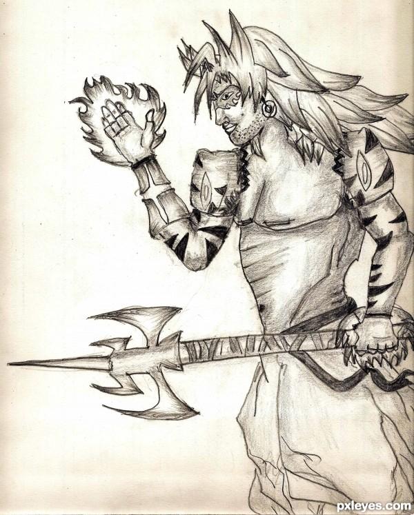 The Warrior Man