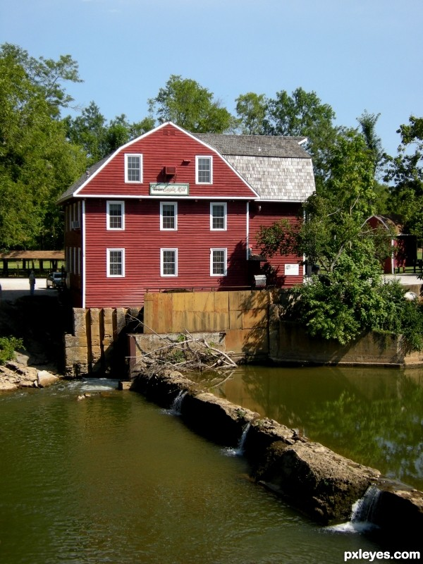 Old Red Grist Mill