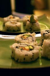 Salmon Sushi!