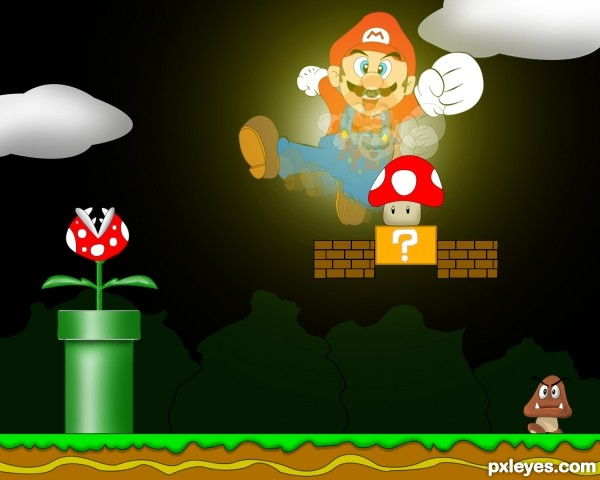 Power up Mario