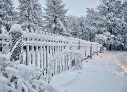 Snow Fence Picture