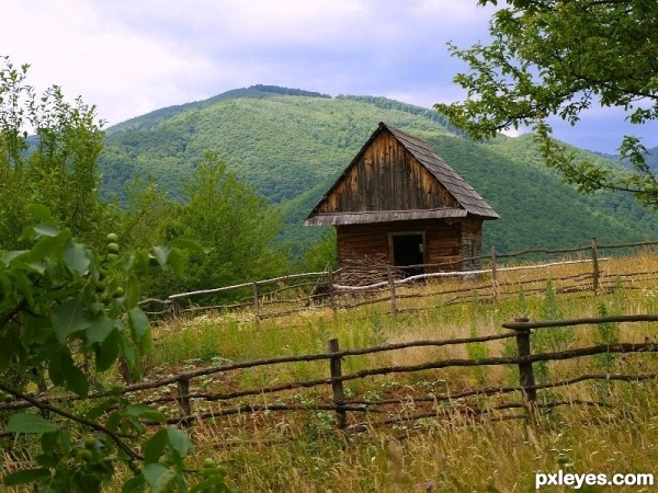 Old house fance