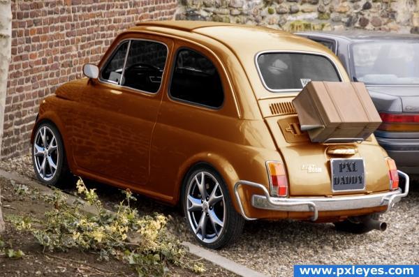 Fiat500 PIMPED