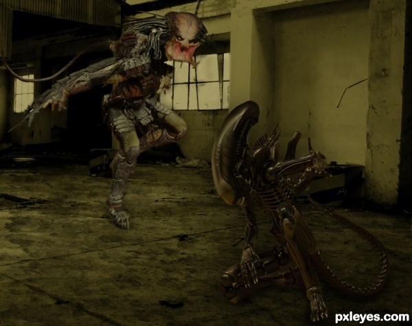 Alien Vs Predator Paint Room
