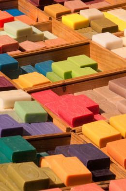 Colorful Soap
