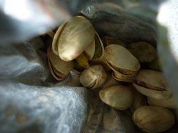Pistachios In A Bag
