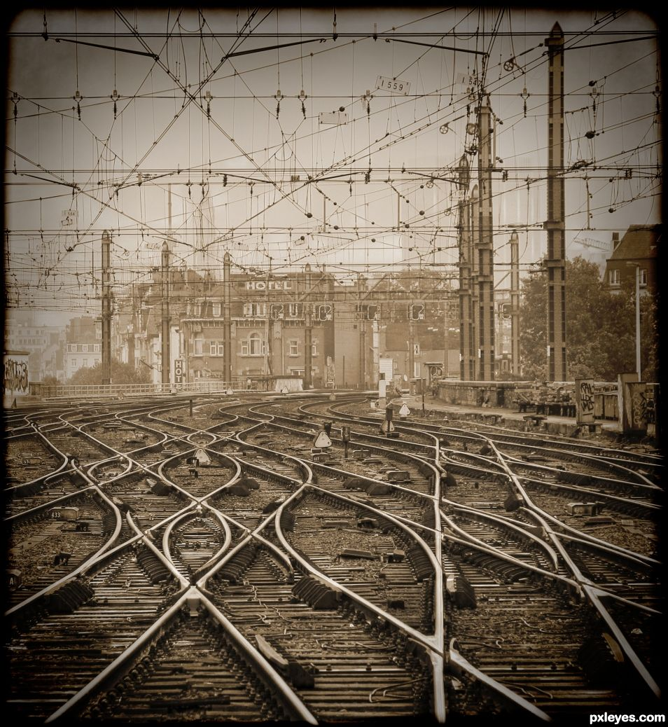 Brussels Railyard