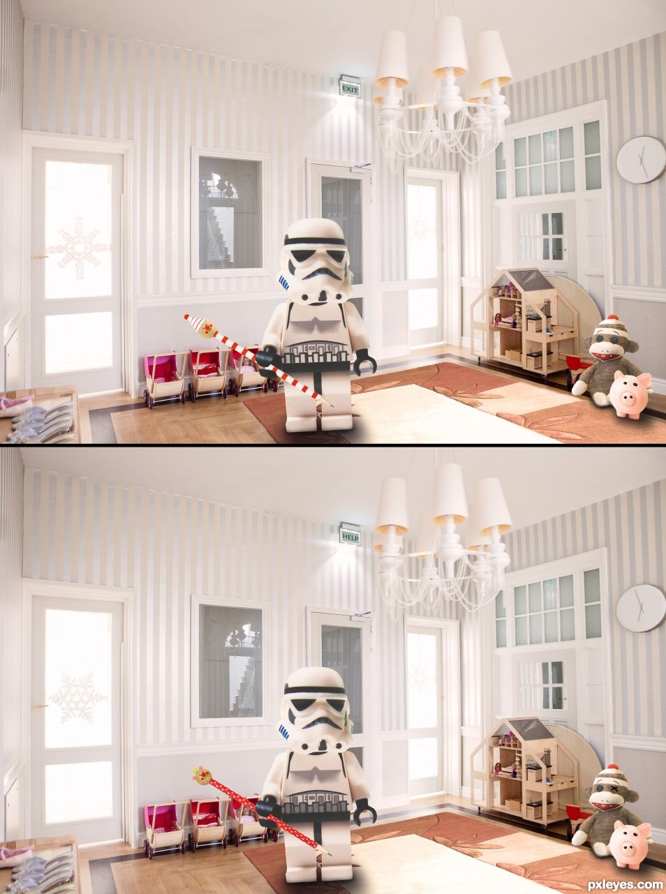 Can you spot the 7 differences?