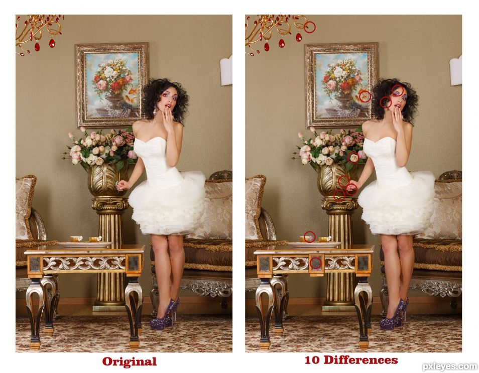 Creation of FIND THE 10 DIFFERENCES.... EASY TASK: Step 1