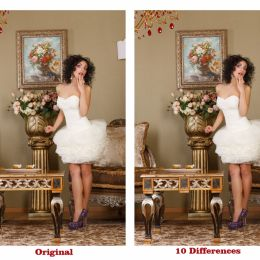 FIND THE 10 DIFFERENCES.... EASY TASK Picture