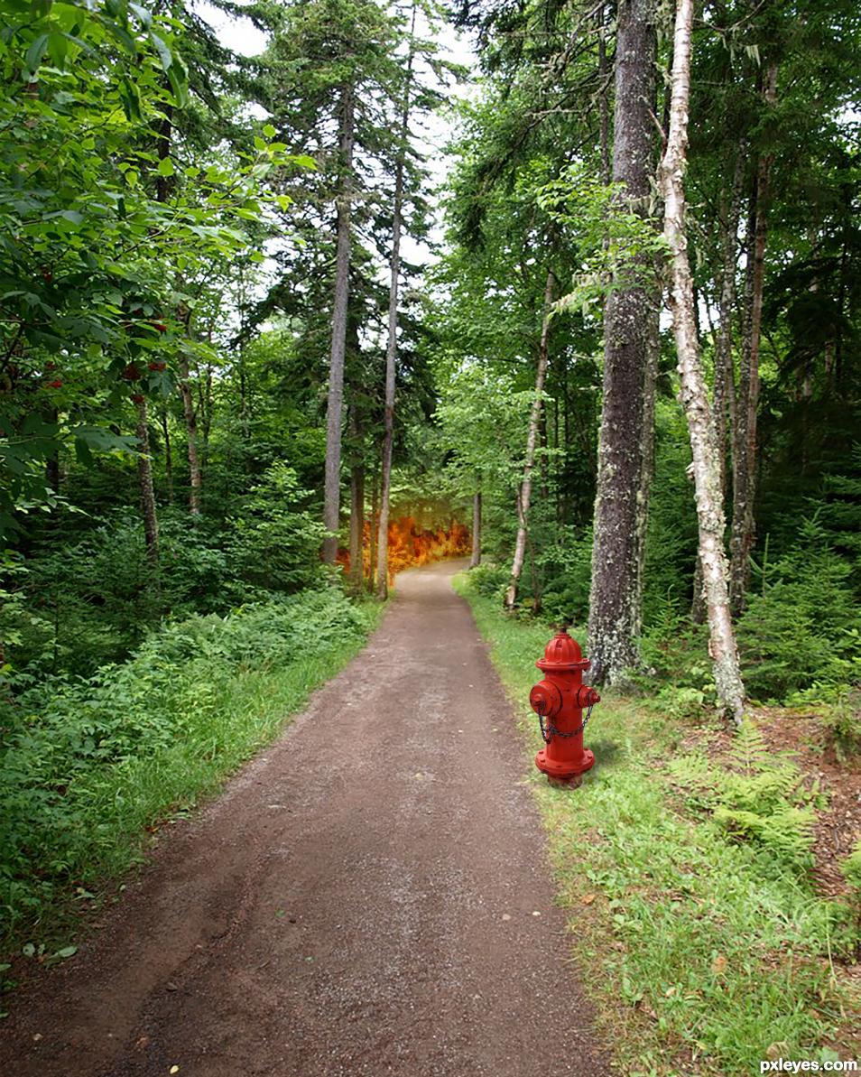 Lucky Fire Hydrant