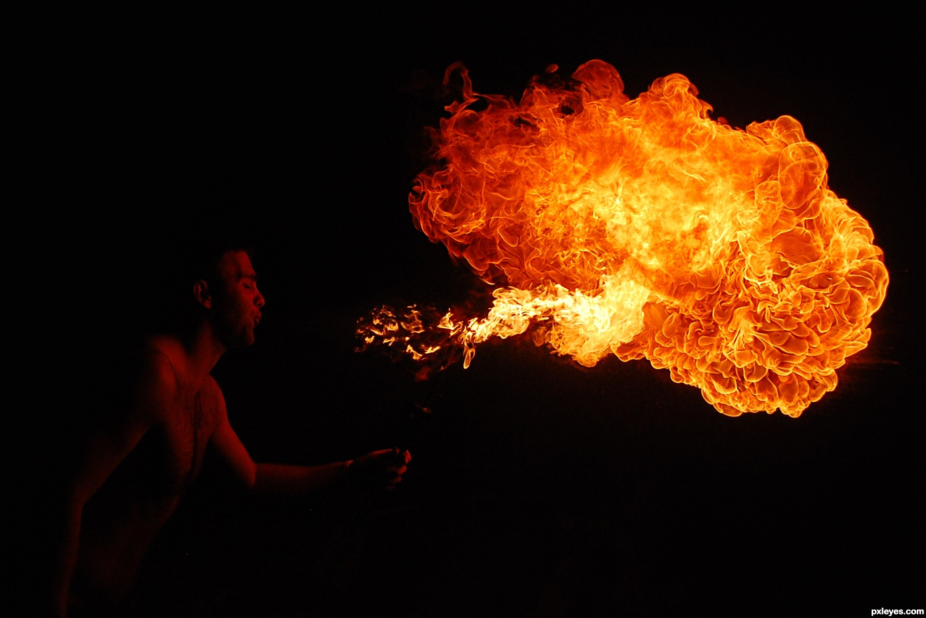 Fire Breather picture, by loganfoll for: fire photography ... Fire