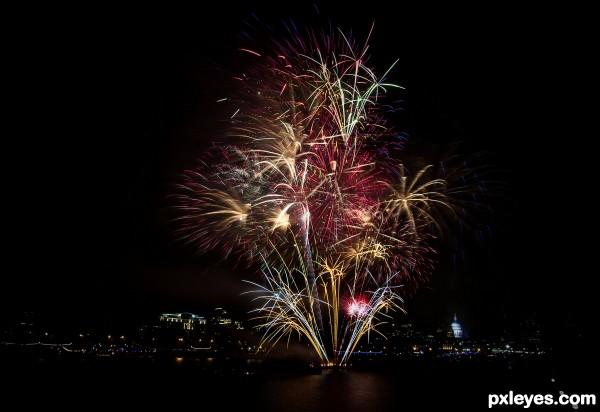 Lord Mayor fireworks