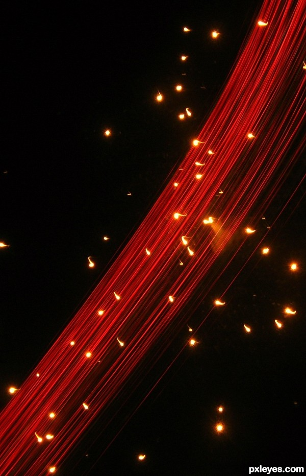 fireworks effect