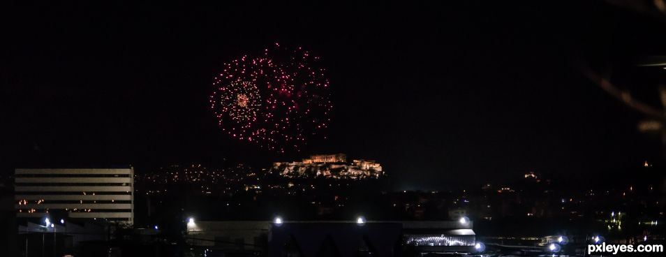 Happy New Year World from Athens Greece