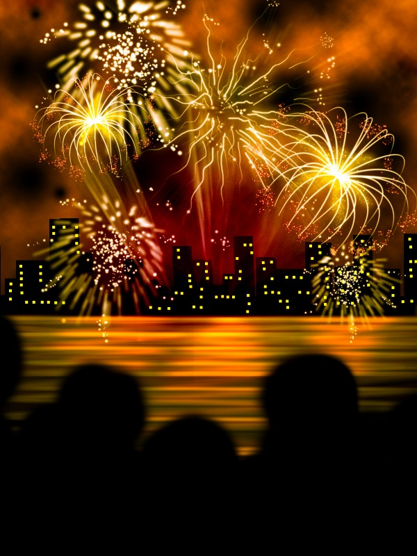 Fireworks Drawing Contest (12960), Pictures Page 1 ...