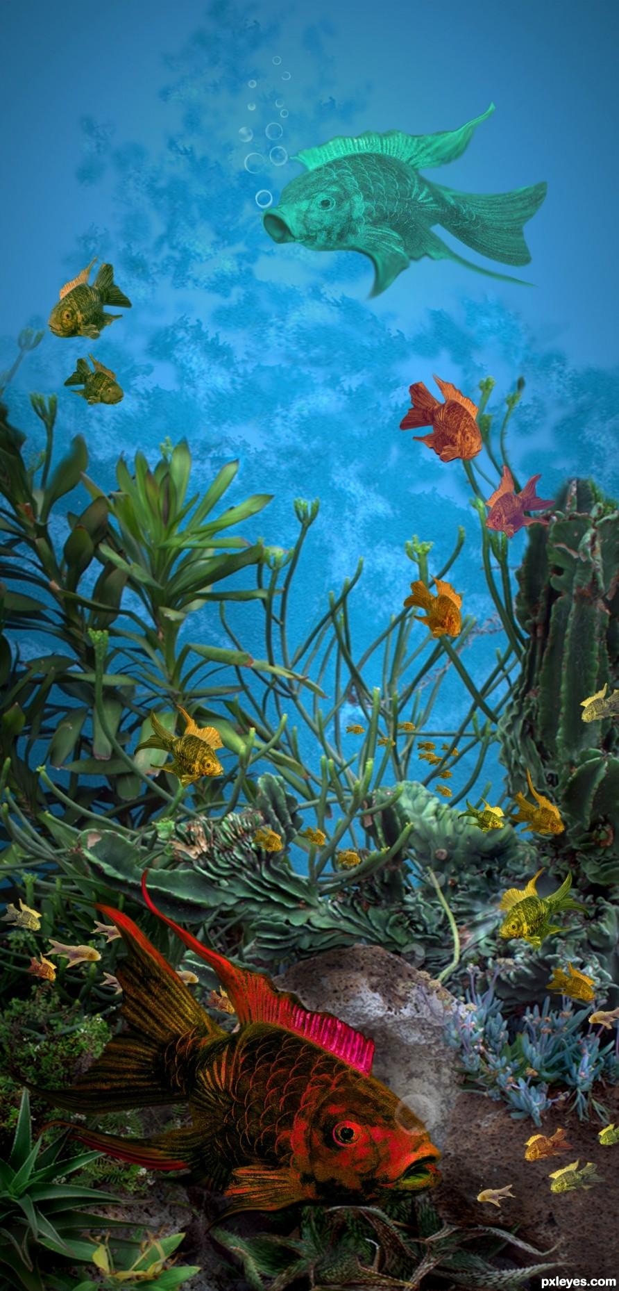 Underwater Ballet