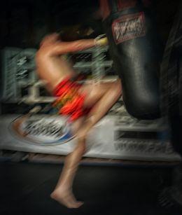 Blur of Boxer
